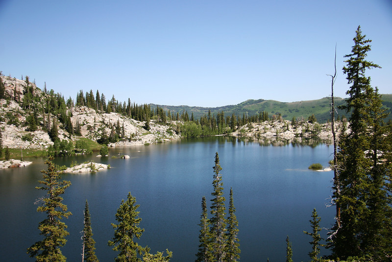 Lake Mary, Brighton Utah. ...... A short walk later, about a quarter mile, you come to the third, smaller lake, Martha.