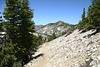 These next shots, from the summit and trail just coming down. It is ez to follow the trail, well traveled.