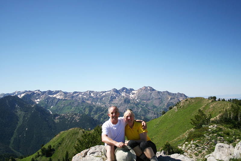 The summit of Gobblers Knob, 10,200 ft or so, August 2011.