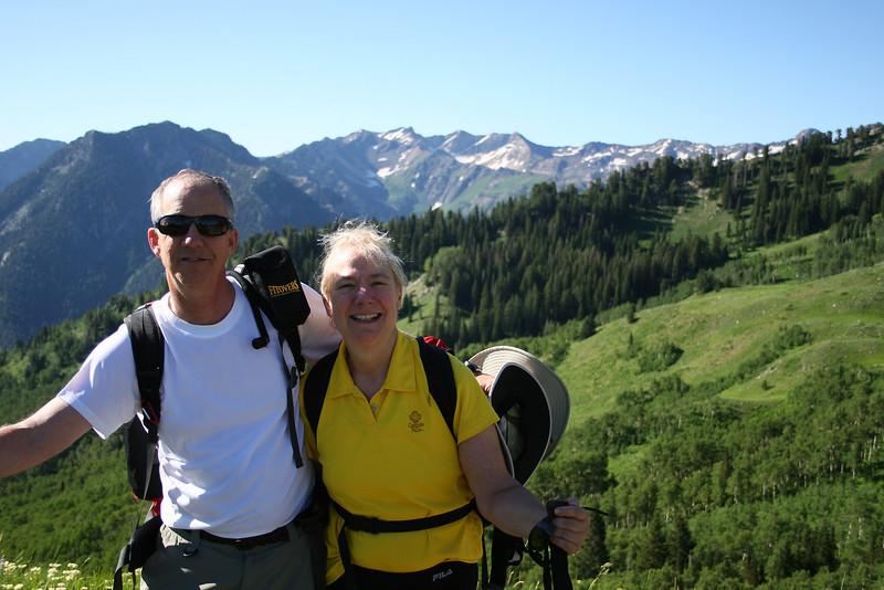 At 9600 ft., happy happy....