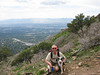 Me and Maizy Mae, that is I-215 Belt Route, below...She made it all the way to the peak, despite  dragging my ass.