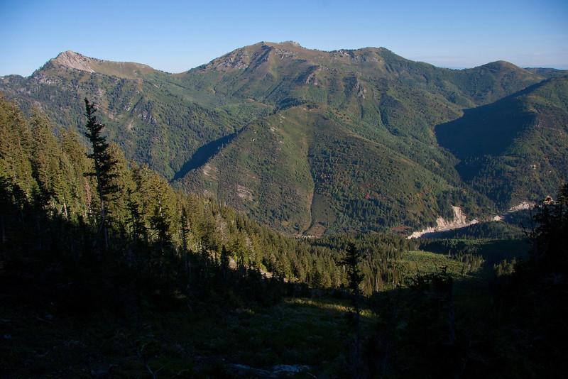 Nice shot of Mt. Raymond and Gobbler Knob.