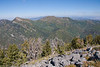 Ridge between Big and Millcreek, from summit.