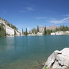 Red Pine Lake, 9,200 ft above sea level. Little Cottonwood Canyon, Utah