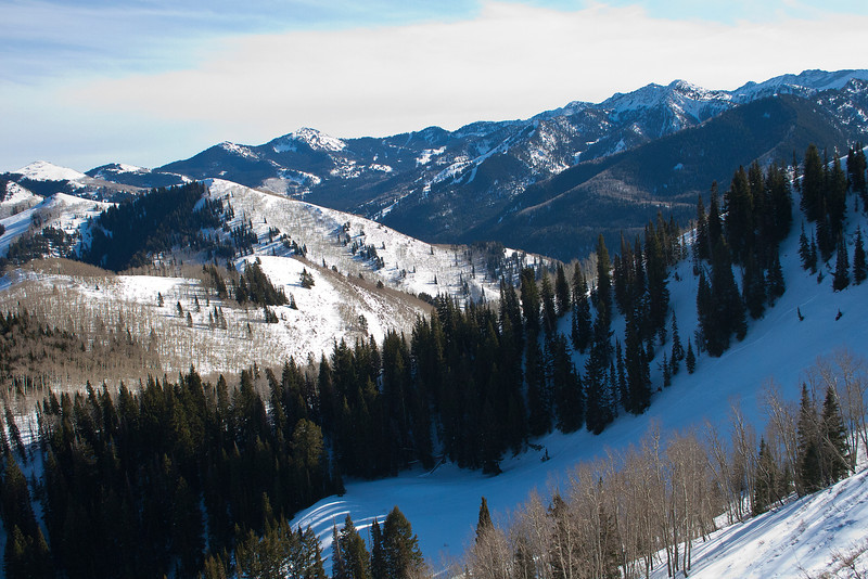 View from ridge above Dog Lake
