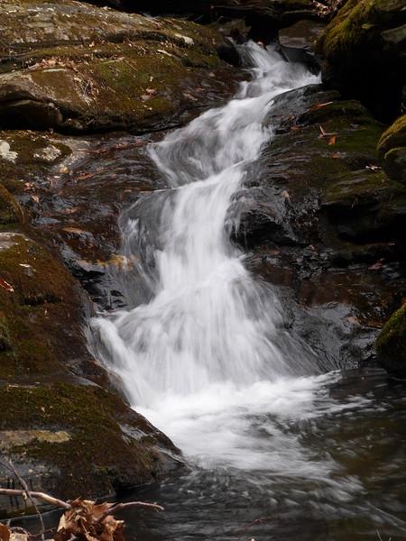 Slide Cascade at elevation 4280'