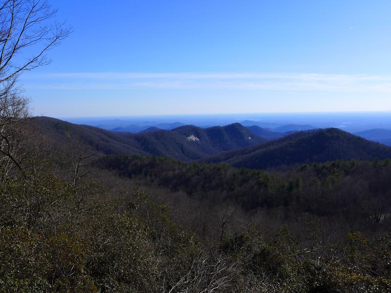 <h1>View from Sassafras Mountain Overlook</h1>