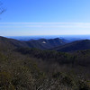 <h1>View from Sassafras Mountain Overlook</h1>
