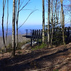 <h1>Observation Deck</h1>...on Sassafras Mountain, South Carolina's highest peak.