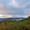 <h1>Early Morning View</h1>...from the Blue Ridge Parkway, looking south.