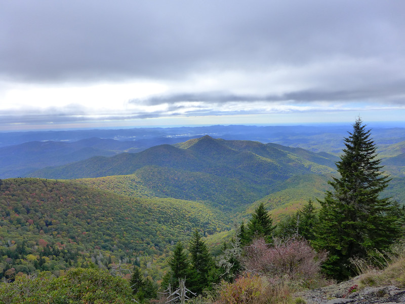 <h1>View from Chestnut Knob Overlook</h1>