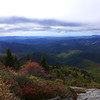 <h1>View from Devil's Courthouse Overlook</h1>