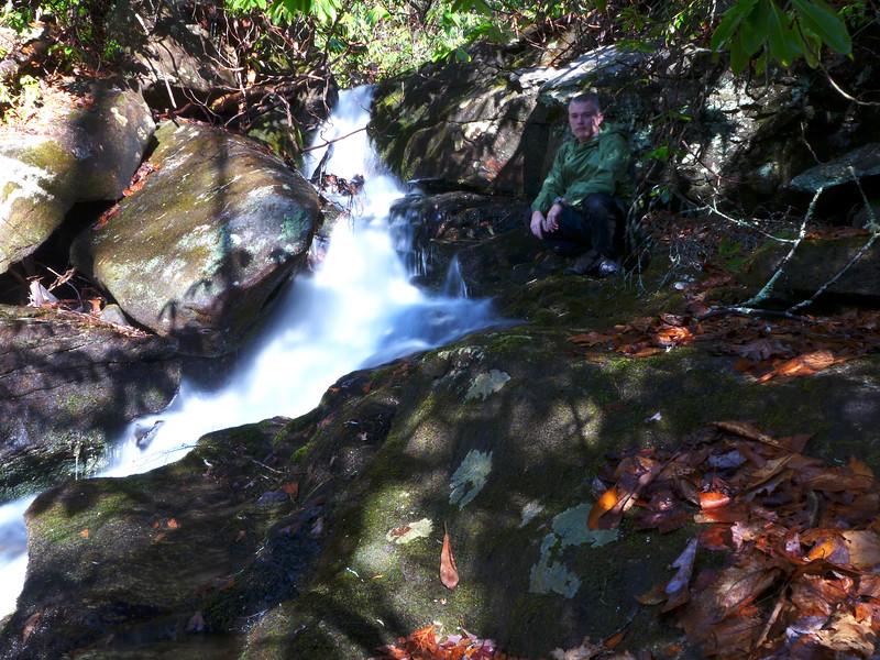 Small Cascade, downstream from Barbara's Falls