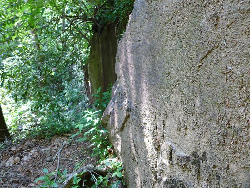 Large section of boulder