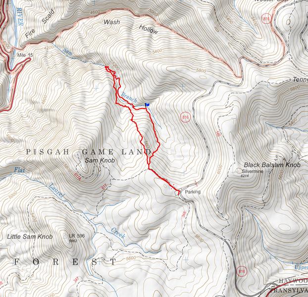 GPS track