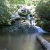 Base of Lower Catawba Falls
