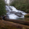 <h1>Van</h1>...at the base of Catheys Creek Falls.