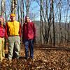 Brenda, Mark, and David at Choga Butt Knob's Peak