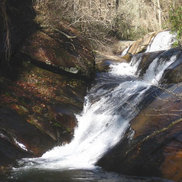 Emory Creek around elevation 1500'