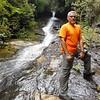 Mark at Cleft Falls