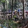 One of several bridge crossings