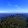 <h1>Pilot Mountain</h1>...as viewed from the Mountains to Sea trail near Black Balsam and Silvermine Bald.
