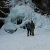 Brenda and Pat at Upper Catawba Falls