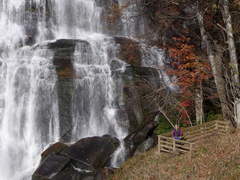 <h1>Wendell</h1>At Rainbow Falls.