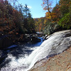 <h1>Turtleback Falls</h1>.  Note the drop off at the top of the very nearby Rainbow Falls in the center of the photo.