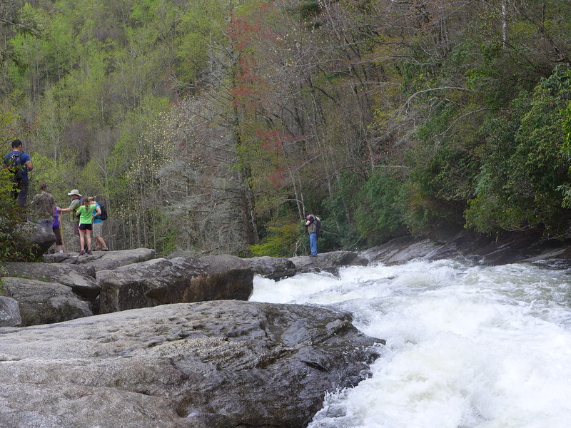 Just upstream from Rainbow Falls