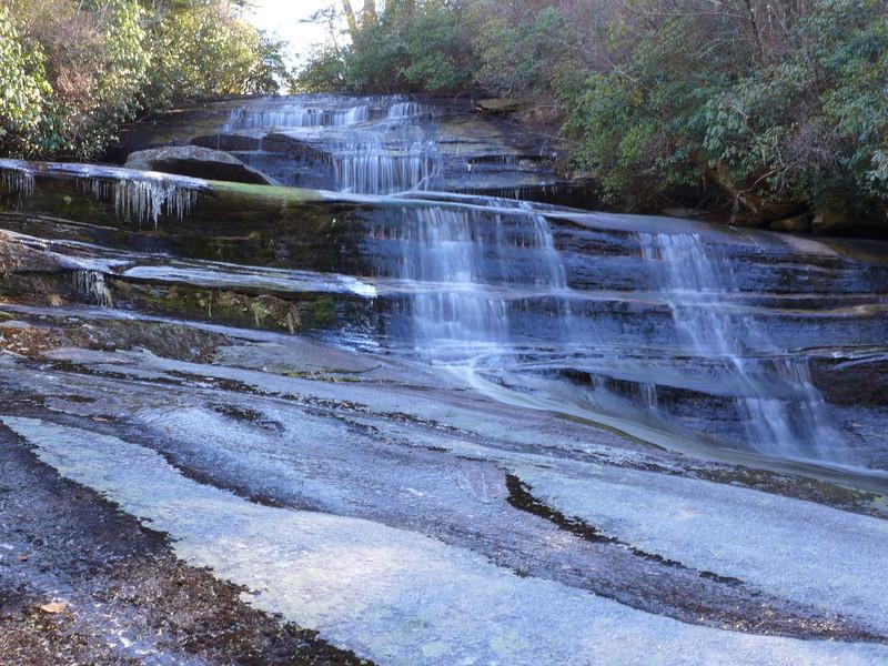Upper portion of Carlton Falls