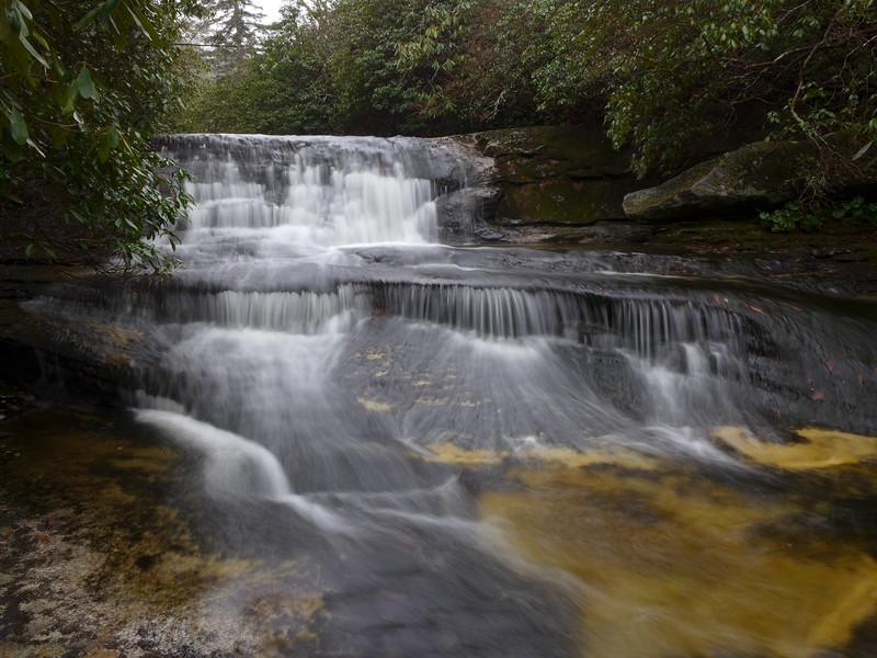 Close up of Halfway Falls
