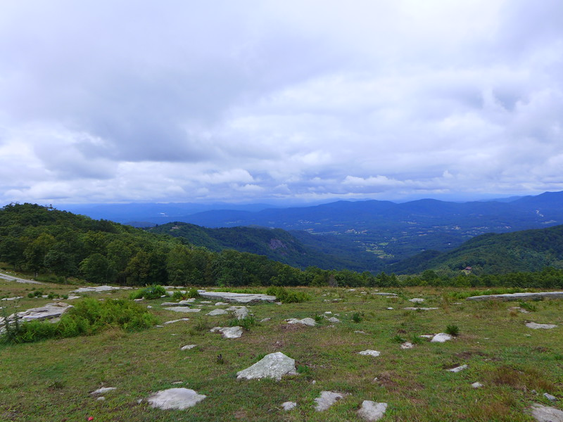 Views from the top of Bearwallow Mountain