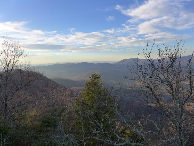 View from Ferguson Peak