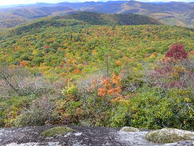 Panthertown in autumn colors