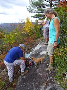 Members of the Pisgah Hikers