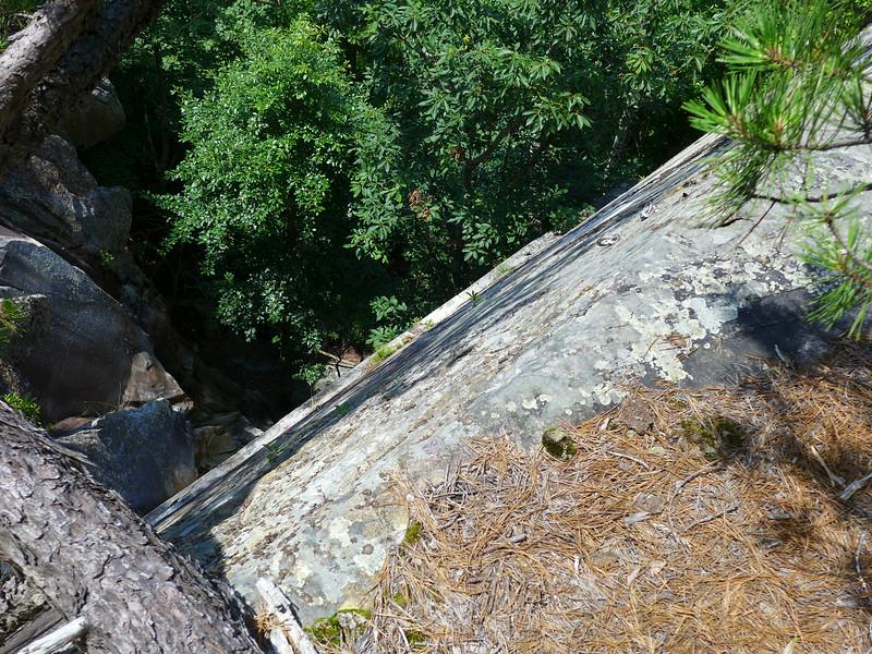 Vertical cliffs