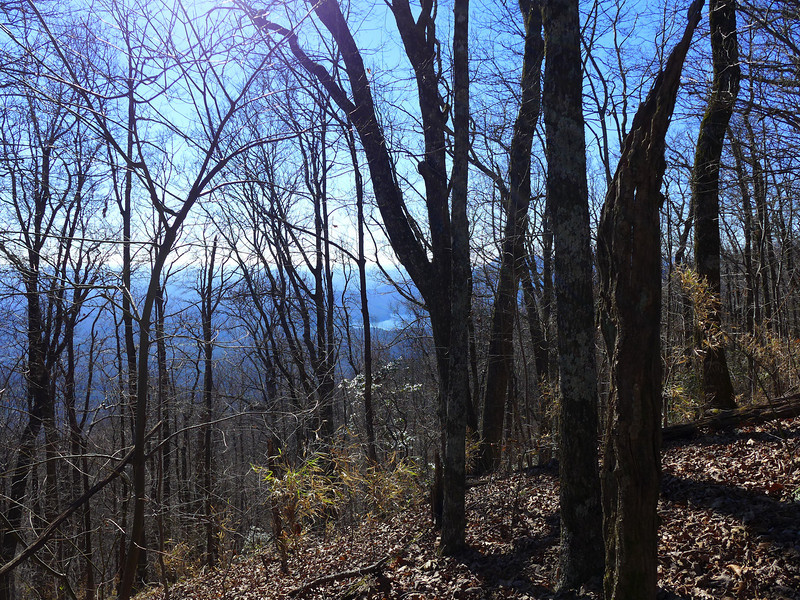 <h1>Another view of the Table Rock area</h1>...from the Raven Cliff Ridgeline.