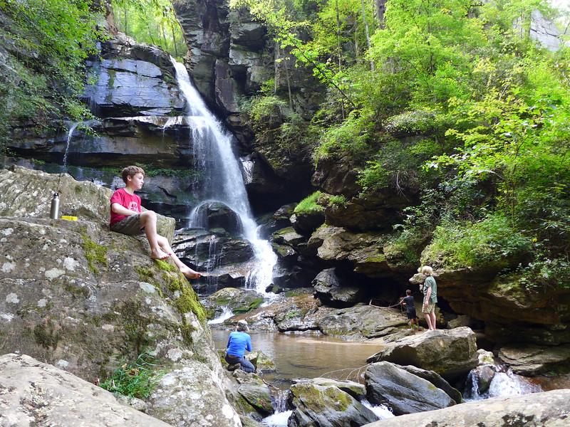 At Big Bradley Falls