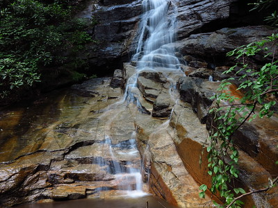 Lower portion of Jones Gap Falls