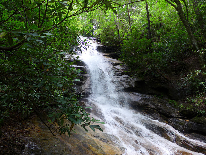 "<h1>Jones Gap Waterfall</h1>For comparison of how much more water volume there is from normal, <b><u><a href=""http://www.flickr.com/photos/nc_hiker/9304299536/"" target=""_blank"">look at this photo from my 2009 visit</a></u></b>."
