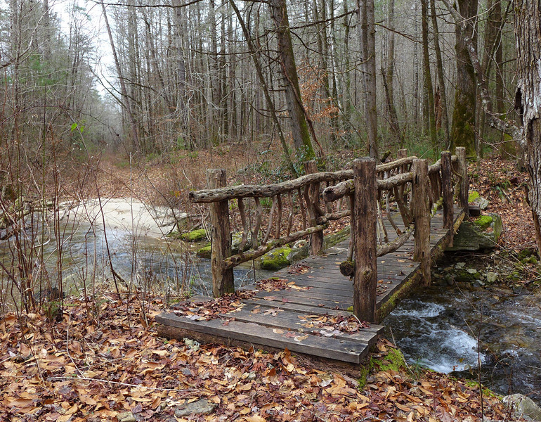 <h1>One of several bridges</h1>...along the Foothills Trail.