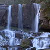 <h1>Zoomed in shot</h1>...of Virginia Hawkins Falls.