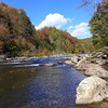 <h1>Chattooga River</h1>Looking upstream from where Long Creek empties into this river.