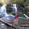<h1>Yours truly</h1>...at Long Creek Falls.