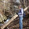 <h1>Evan</h1>...near the base of Mashbox Falls.