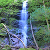 <h1>Waterfall on Little Fall Branch</h1>This waterfall is 4.4 miles from the Max Patch Parking area, just off Cold Springs Creek Road.  It is a short 5 or 10 minute walk from the parking area, which is just past the Horse Camp area.