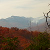 The Overlook also provided an all too clear view of the ongoing Pinnacle Mountain Fire.
