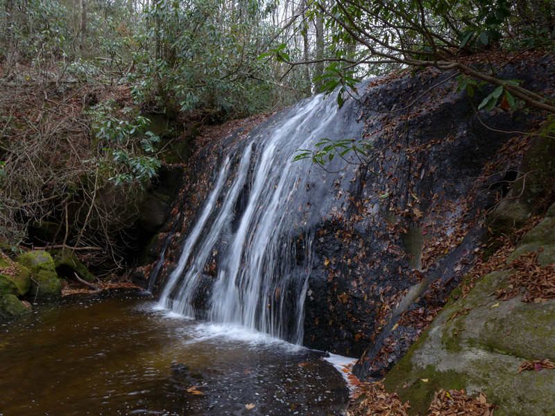 <h1>Frolictown Falls</h1>Next stop on the tour was Frolictown Falls.