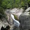 Brenda, at Steel's Creek Waterfall